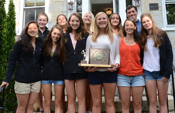 2014 Vermont State Champions - BBA Varsity Girls Tennis photos by Gary Baker