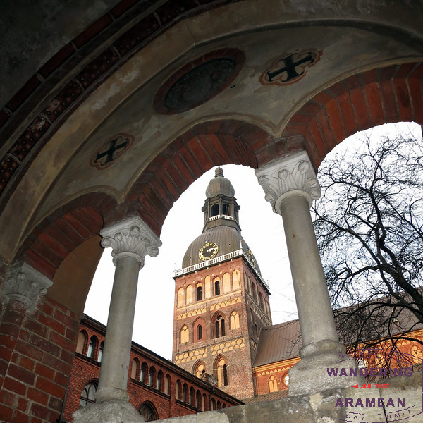 My favorite photo from the trip: The Riga Cathedral