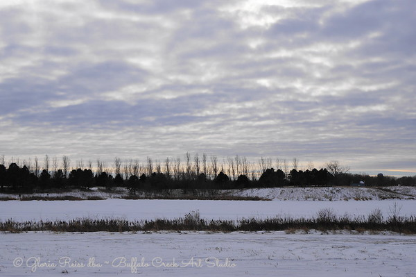 Brewer Lake in Winter