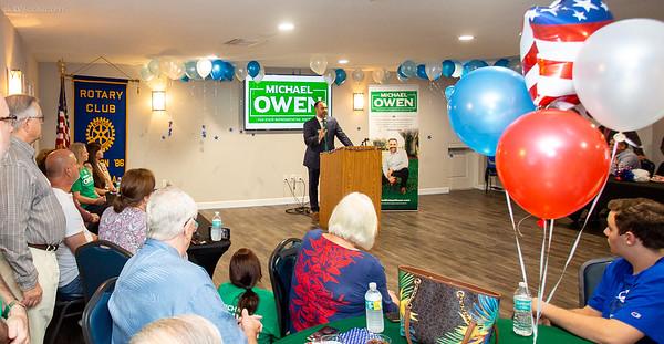 Michael Owen Campaign Kick-Off