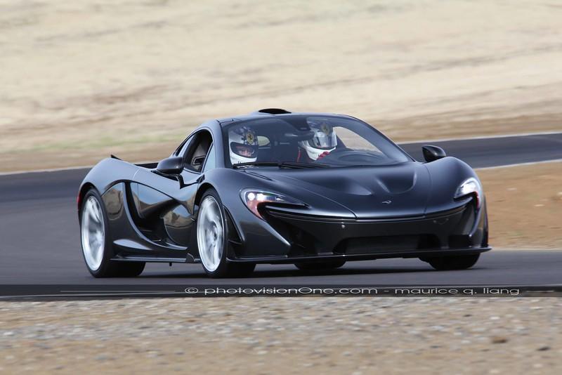 McLaren P1 at Thunderhill Raceway.