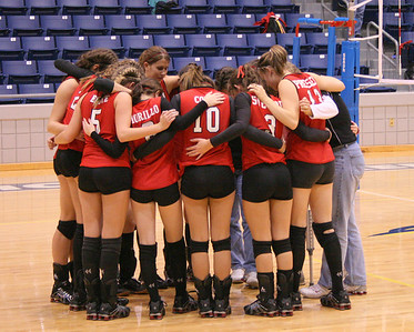 Lander University Volleyball Tournament Champions! #1 10-14-06