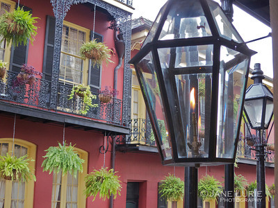 Gas Lights in New Orleans