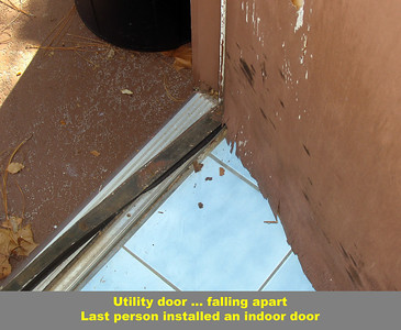 Needed household repairs