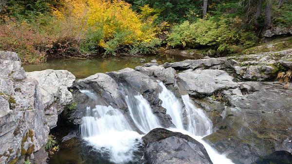 Lower Box Canyon Creek Falls