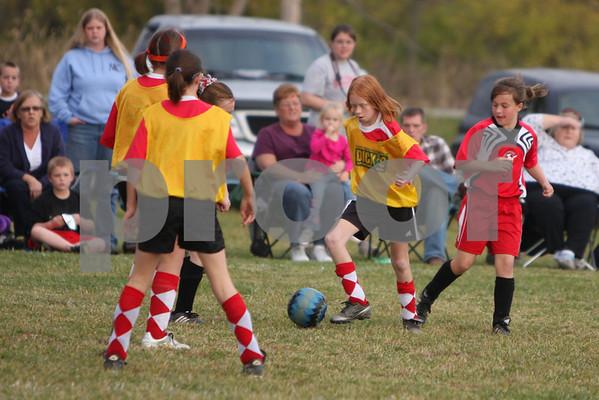 U-11 girls New Richmond vs. Bethel '09