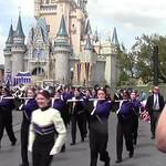 CSHS Band Marching at Disney World's Magic Kingdom 03/25/2015