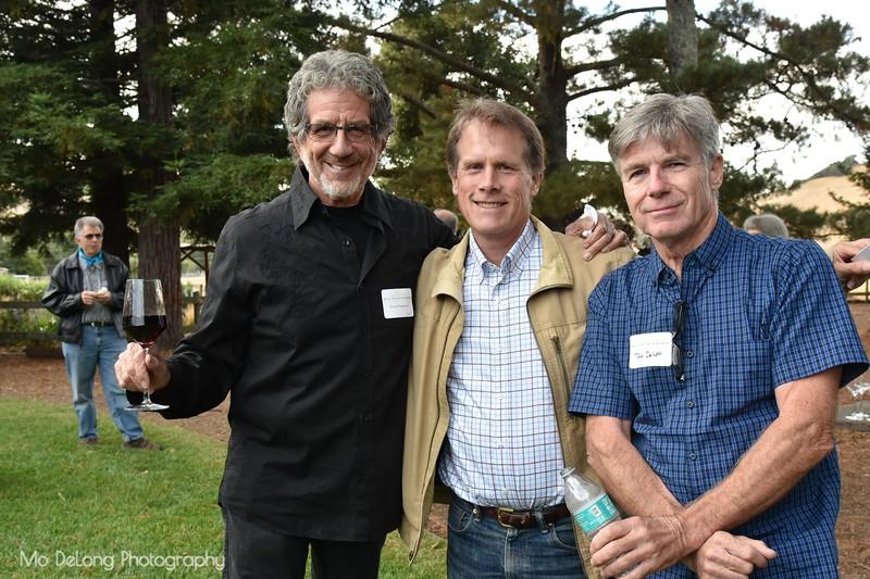 Howard Sugarman, David Longerbeam and Tom DeLon