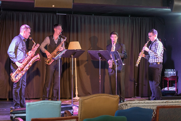 Project Fusion Saxophone Quartet
