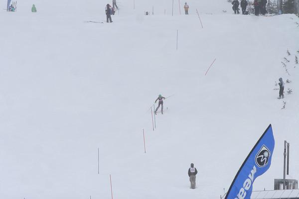 sat jan 2, winterstart 2010 slalom race, second run