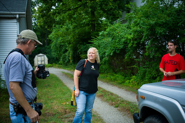 Shooting with Shonda, Mike, and John 7-15-12