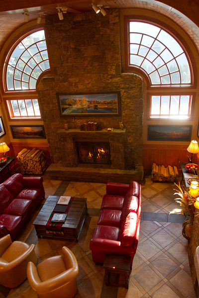 The lobby of Wyoming Inn was a comfortable place to spend some time.  Off the lobby was a dining room where we had a great breakfast to start the day.