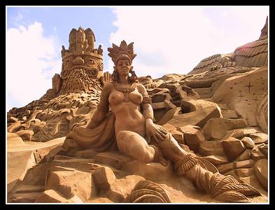 Belgium - Blankenberge - Sand Sculptures