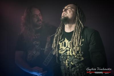 Growing Horns @ Headbanger's Balls Crew Party - Café Quicky - Izegem