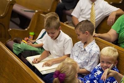 2012-07-07 Parker's Baptism