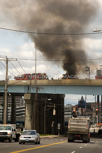 I-95 Truck Fire (Bridgeport, CT) 6/13/11