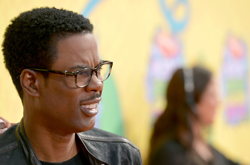 . Chris Rock arrives at the 27th annual Kids\' Choice Awards at the Galen Center on Saturday, March 29, 2014, in Los Angeles. (Photo by John Shearer/Invision/AP)