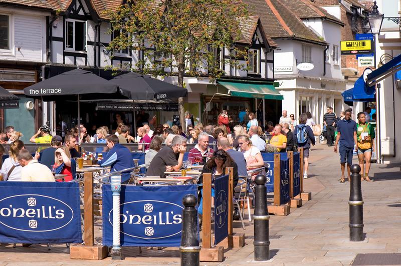 Oneills pub on Apple Square, Kingston upon Thames, Surrey, United Kingdom
