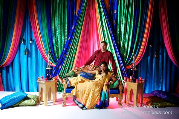 Beenish & Malik's Pithi