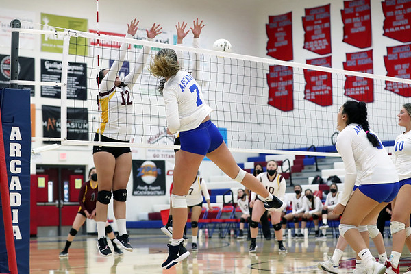 Arcadia HS Varsity Volleyball 2020