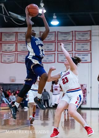 Broughton girls varsity basketball vs Sanderson. February 12, 2019. 750_6086