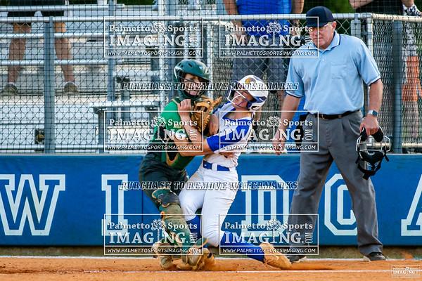 Lexington vs Summerville Varsity Softball PLAYOFFS