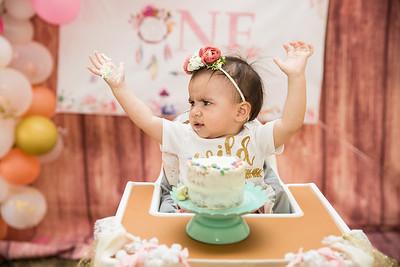 Bella's 1 st Birthday
