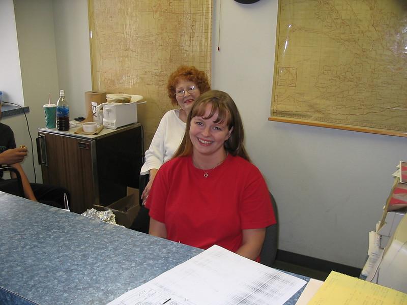 Paula and Mom at work.jpg