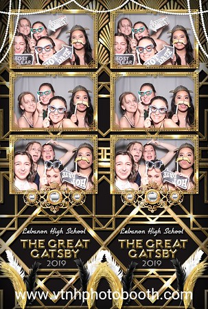Photo Strips - 5/11/19 - Lebanon Prom