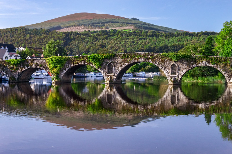 Bridge from Tinnahinch to Graiguenamanagh