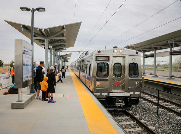 4-23-16 Train To The Plane - 61st and Pena RTD Station Party