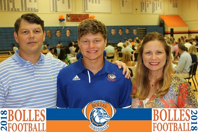 2018 Bolles Football Kickoff Dinner