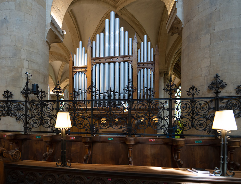 Organ in Christ Church Cathedral, Oxford University (Aug 2021)