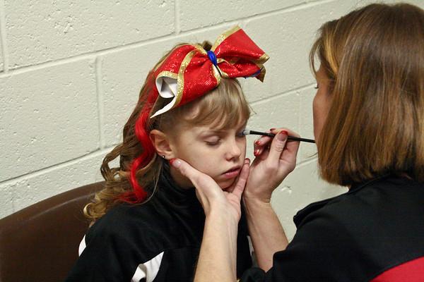 Famous Superstars at Fairmont State Spirit Championship 2011