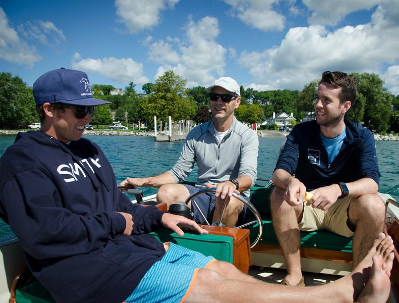 Nick, Chris, Will