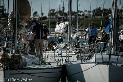 Balboa Yacht Club   Beercan Race 7-17-15