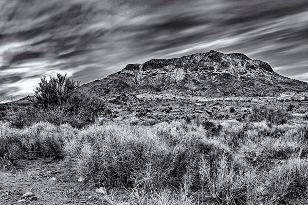 Cerbat Mountains Black and White