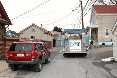 Gas Odor Response, Hazle Street, Tamaqua (3-25-2011)
