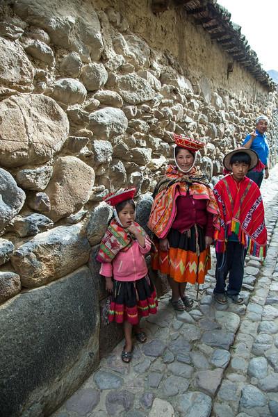 Ollantaytambo, a fortress built during the Inca Empire - May, 2015