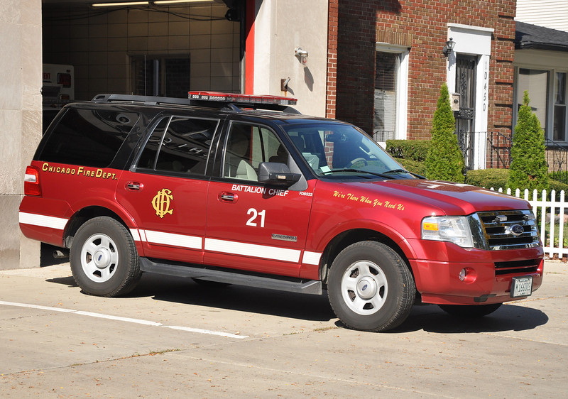 CFD Battalion 21 B-523 2007 Ford Expedition
