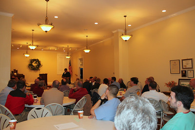 Bi-weekly men's prayer breakfast 50-70 participants