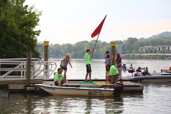 2021 Three Rivers Regatta - prerace stuff and 24 mile start