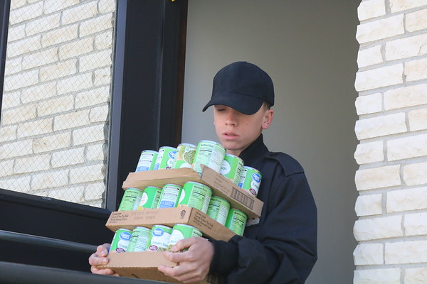 Monticello Area Community Action Agency (MACAA) Food Drive.