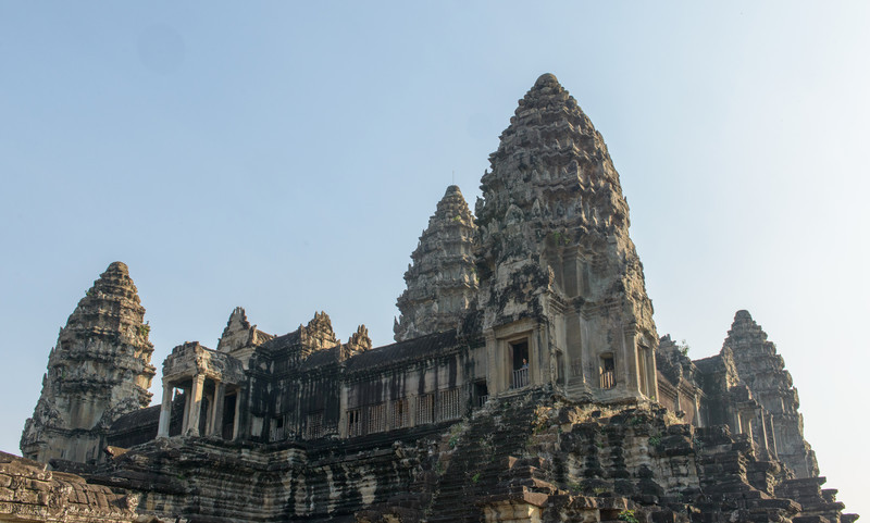 Angkor Wat. The innermost towers.