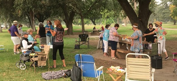 9-9-20 A Covid day in the park for the Madera CalRTA