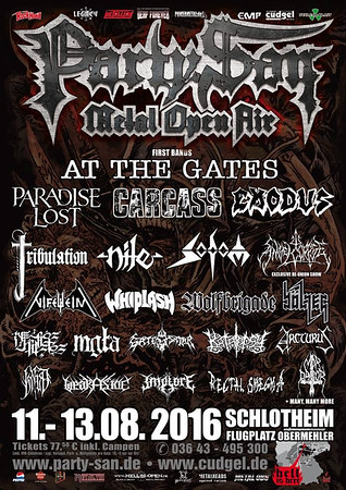 IMMOLATION - Party.San  2016