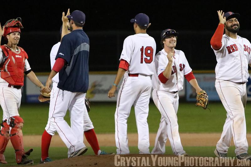 Guelph Royals at Brantford Red Sox July 24, 2015