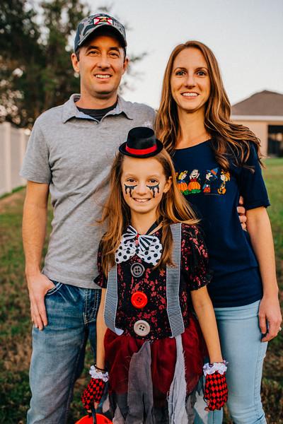Rowe Family Halloween 2018