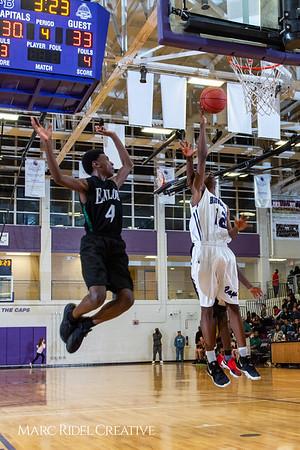 Broughton boys JV basketball vs Enloe. January 4, 2019. 1-4-19 BasketballBV00795