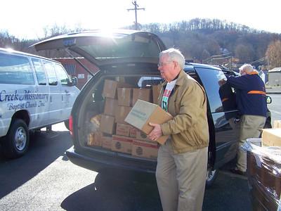 2011,  Thanksgiving Food Distribution